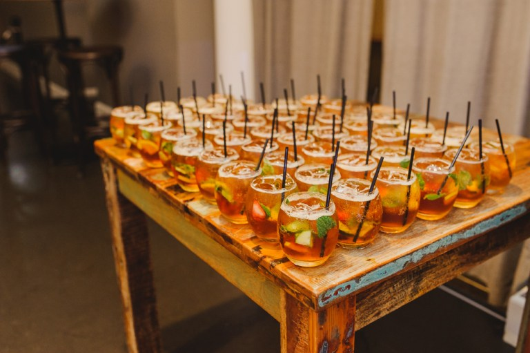 drink pimms at corporate events