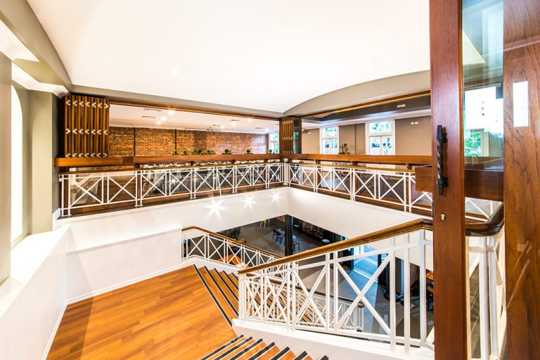 platform staircase for corporate events
